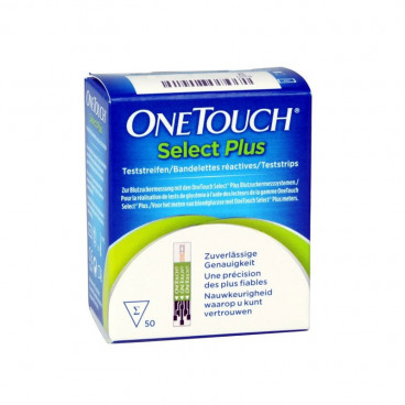 One Touch Select Plus 50 teststrips