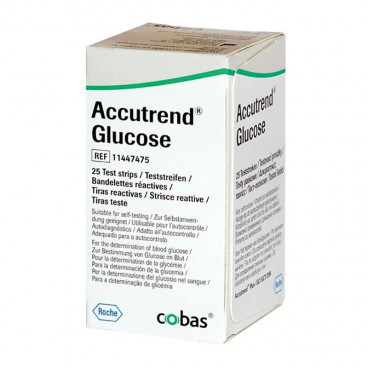 Accutrend Glucose teststrips (25st)