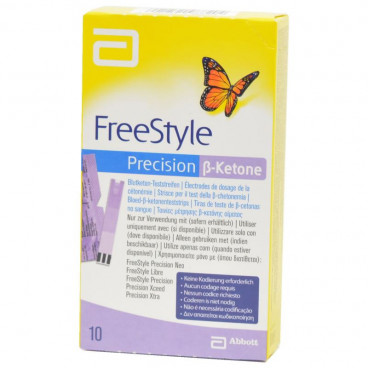 Freestyle Precision B-Ketonen 10 strips