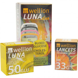 Wellion Luna Duo startpakket PLUS