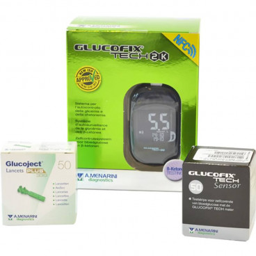 Glucofix Tech 2K Startpakket PLUS