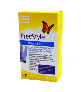 Freestyle Precision 100 teststrips