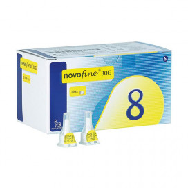 Novofine 8mm x 0,30mm 30G 100 pennaalden
